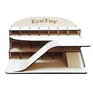 Середній іграшковий гараж ecoToy 48х28х25 см (111064)