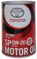 Моторна олива Toyota Synthetic Motor Oil SP/GF6A 0W-20 1 л (08880-13206)