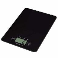 Весы кухонные Electronic Kitchen Scale со стеклянной поверхностью 5 кг Черный (00248)