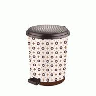 Ведро для мусора с педалью Elif Louis Vuitton 11 л (365)