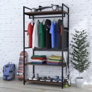 Стеллаж для одежды Loft Design LV-100 Орех Модена (54478c19710)