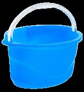 Ведро овальное Комфорт Полимердеталь 16 л Голубой