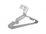 Плічки з силіконовим покриттям 10 шт Срібний