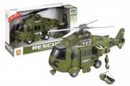 Вертоліт інерційний WenYi Armed озвучений/зі світлом 32,5x12x19 см Хакі (WY751A)