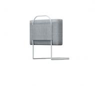 Бортик защитный на кровать 50x30x7 см Серый (Z2358)