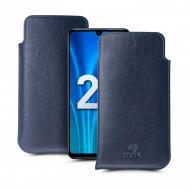 Футляр Stenk Elegance для Huawei Honor 20 Lite Синій (65946)
