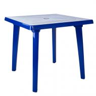 Стіл пластиковий Алеана квадратний  80x80 см Синій