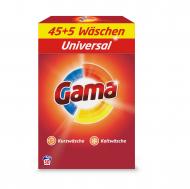 Порошок для стирки белья Gama 3в1 Универсальный 3.25 кг 50 стирок (806691)