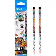 Олівець Deli Олівець графітний EH21001 мікс 5ммх8м