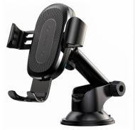 Автомобільний тримач BASEUS з бездротовою зарядкою QI для телефону Wireless Charger Gravity Car Mountи