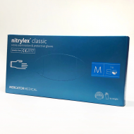 Перчатки нитриловые Mercator Medical Nitrylex Classic размер М 100 шт