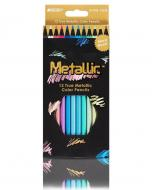 Набір кольорових олівців Metallic Marco 12 кольорів (MAR-5101-12CB)
