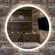 Зеркало Turister круглое с передней LED подсветкой 80 см
