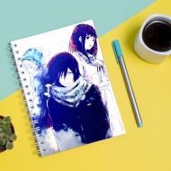 Скетчбук для малювання з принтом Бездомний бог Noragami