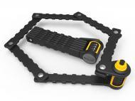 Велозамок кодовий Onguard 8115 K9 Heavy Duty Combo 88,5 см Чорний
