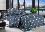 Комплект постільної білизни Білі зірки 150х220 см (T85-8745)