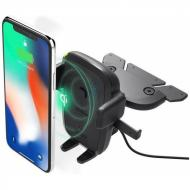 Тримач iOttie Easy One Touch 4 Wireless Qi Charging CD Mount (HLCRIO136AM)