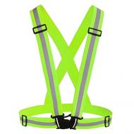 Світловідбиваючий пояс-жилет для велосипедистів UFT waistcoat Зелений