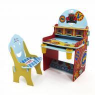 Парта детская Mi nino feliz 8117 со стульчиком Голубой (2000902337554)
