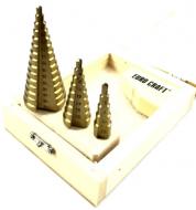 Набор ступенчатых сверл Euro Craft 3stz от 4 до 32 мм