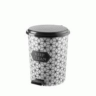 Ведро для мусора с педалью Elif Keep 11 л (365)