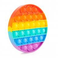 Игрушка-антистресс Pop It Поп ИТ Радужный круг (120.467)