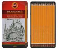 Набір графітних олівців Koh-I-Noor 1500 8B - 2H (8593539022213)