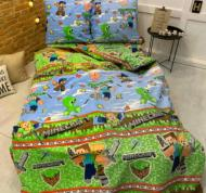 Комплект постельного белья двуспальный Майнкрафт