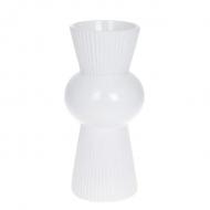 Ваза керамическая Flora 26 см Белый (32344)