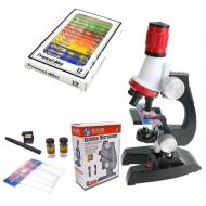 Набір дитячий мікроскоп 1200 х + біологічні зразки Chanseon 1412 (100096)