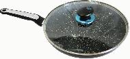 Сковорода Edenberg 24 см с антипригарным покрытием и крышкой (EB-3348)