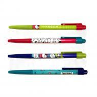 """Ручка M&G """"Cats"""" шариковая автоматическая 40 шт. в шоубоксе толщина линии 0,5 мм Синий (ABP888R8)"""