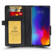 Чохол книжка Stenk Wallet для Lenovo K10 Note Чорний (68323)