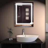 Зеркало Sunlight с LED подсветкой и полкой 600х800 мм (Sun-27)