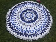 Рушник пляжний круглий Мандала 150 см (SK-115)