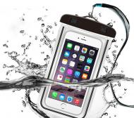 Чехол Waterproof водонепроникний для фото і відео під водою універсальний Чорний (1012389)