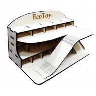 Іграшковий гараж ecoToy 40х23х21 см (111008)