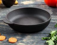 Сковорода чугунная Ecolit 14 см порционная (3002)