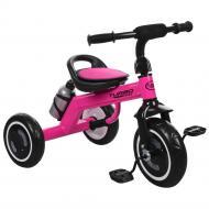 Детский велосипед трехколесный с подсветкой Turbo Trike Розовый M 3648-M-1