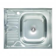 Мойка кухонная Platinum 6050 R 0,4/120 мм из нержавеющей стали