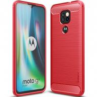 TPU чохол iPaky Slim Series для Motorola Moto G9 Play (Червоний) (152024)