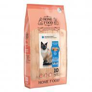Корм сухий гіпоалергенний HOME FOOD Морський коктейль для дорослих котів 10 кг