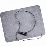 Інфрачервоний килимок з підігрівом в авто 12В 32х42 см (1008789-Gray-1)