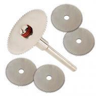 Набір з 5 відрізних кругів для дискових пилок 22 мм (2773)