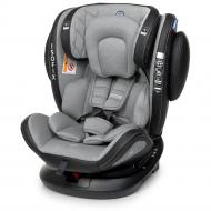 Детское автокресло El Camino Evolution 360 ME1045 Royal c ISOFIX 0-36 кг Gray Серый