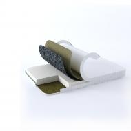 Ортопедический матрас GS Ortholinum Hot Lux 70х190 см Белый (02022020-39)
