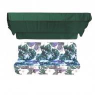 Комплект подушек для качелей eGarden Orchid люкс 170 с тентом