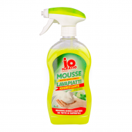 Cпрей-мус для миття посуду IO Sgrasso Лайм та М'ята 500 мл