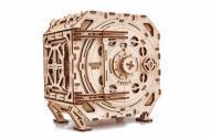 Конструктор механический 3D пазл Сейф копилка Wood Trick 259 деталей