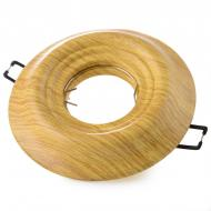Світильник точковий Brille HDL-GA7 G5.3 WH Wood (36-064)
